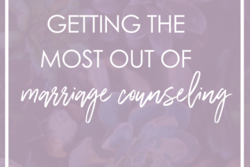 Manhattan marriage counseling