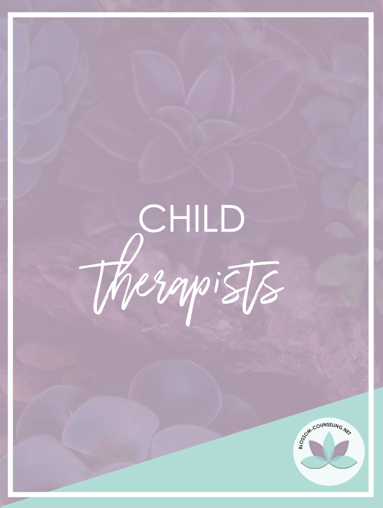 Child therapists using art therapy and mental health counseling for children, teens, and adults for anxiety, trauma, depression, and coping skills