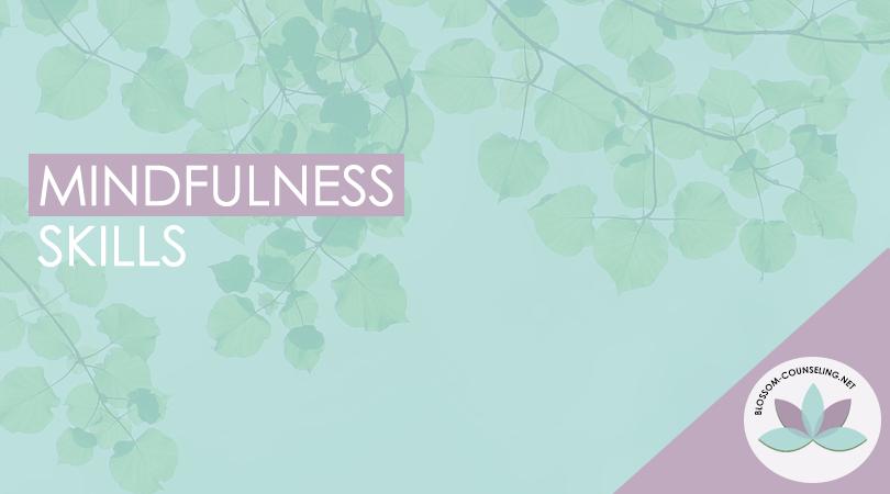 Mindfulness-skills